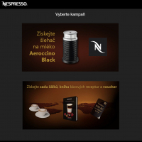 The Nespresso use our system to the application and administration of vouchers. Thanks for your confidence – we appreciate it.