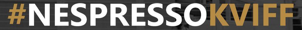 Nespresso a KVIFF? ANO, skvělá káva, skvělý festival, skvělý web:)